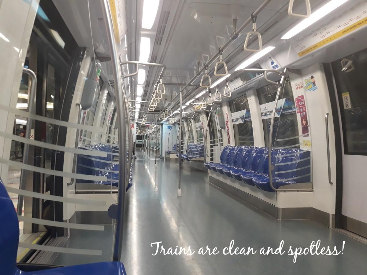 MRT train.