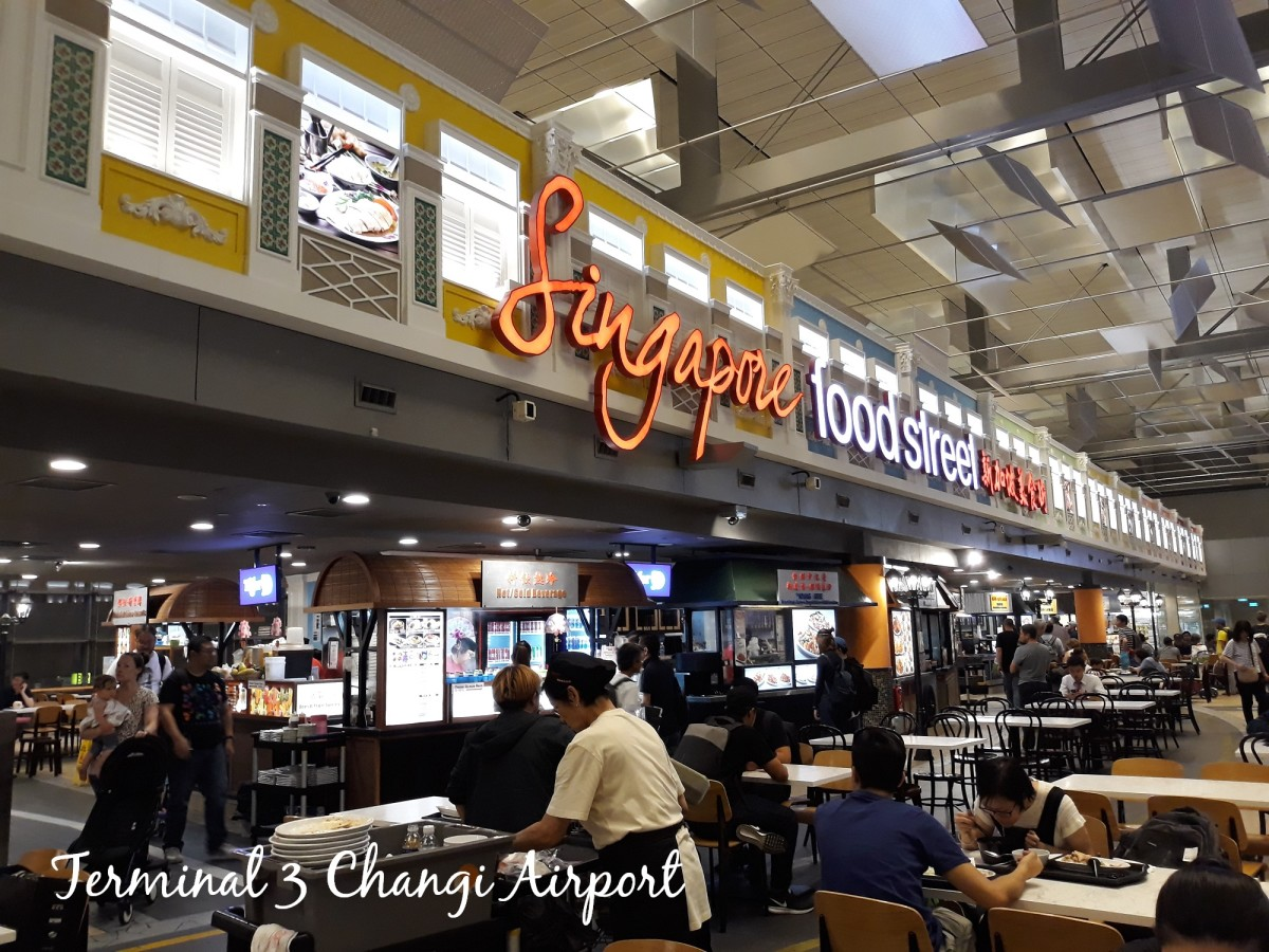 Local food at Changi Airport