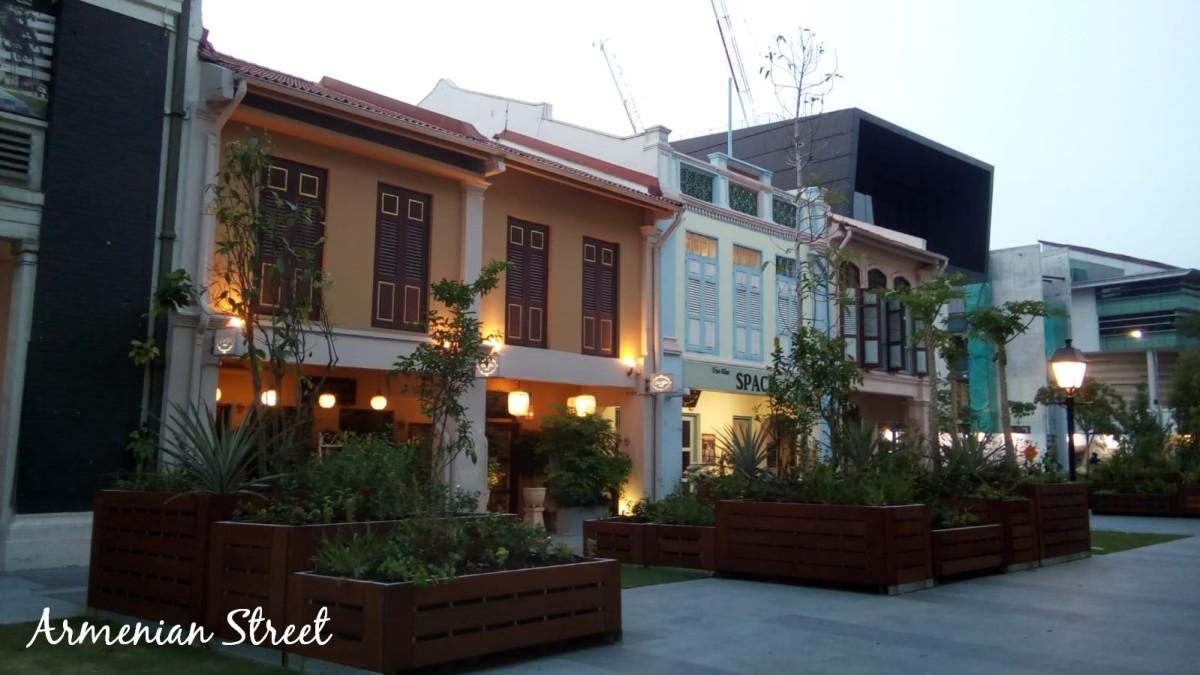 A modernised Armenian Street.