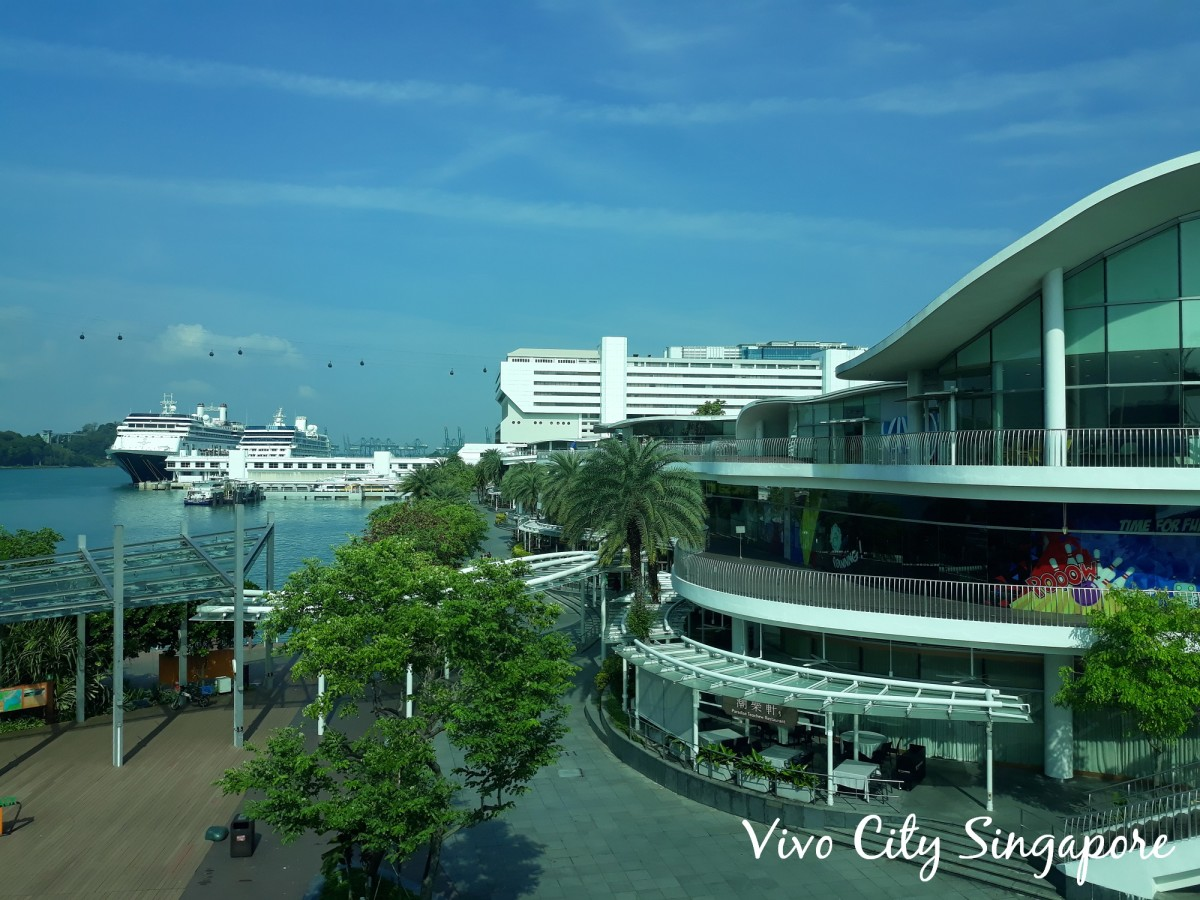 Vivo City at HarbourFront.