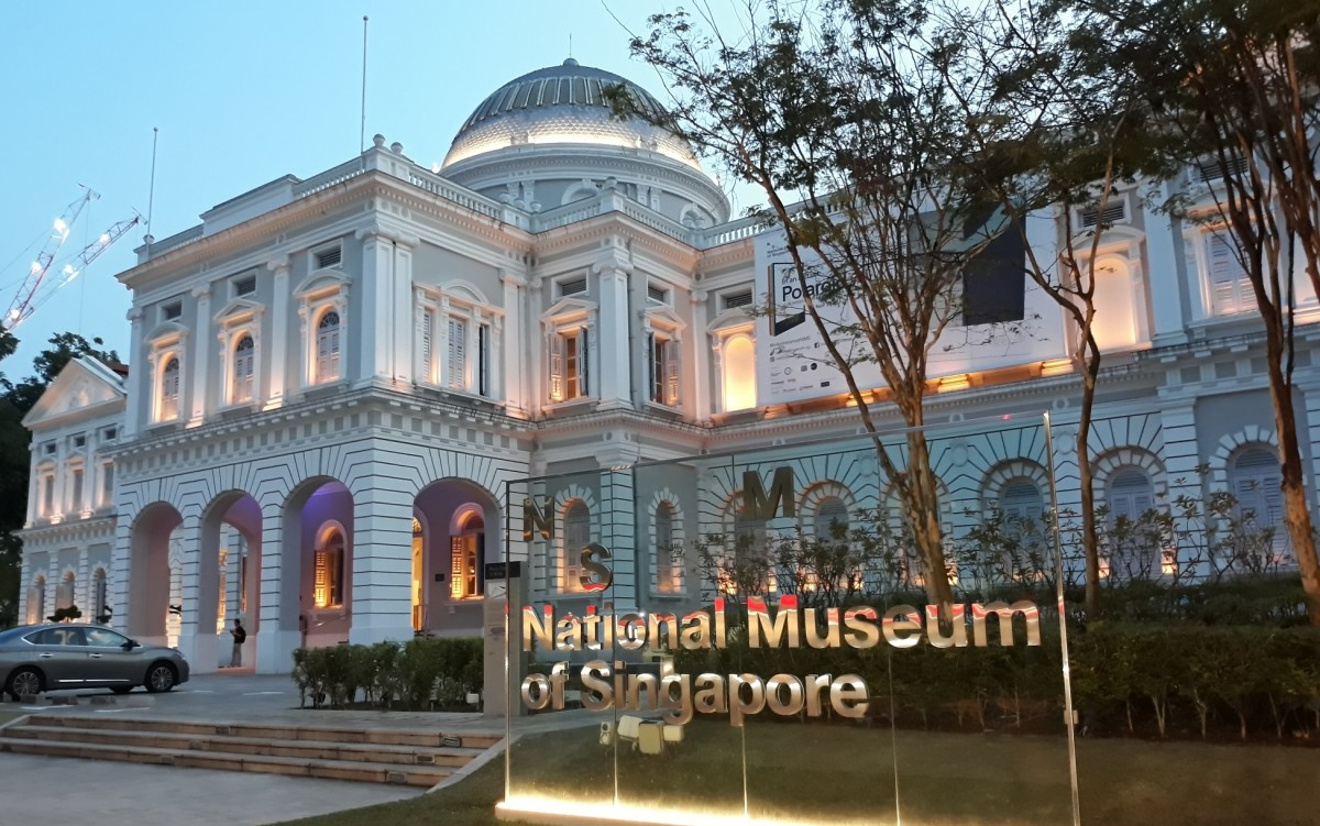 The National Museum is another interesting place to visit in Singapore.