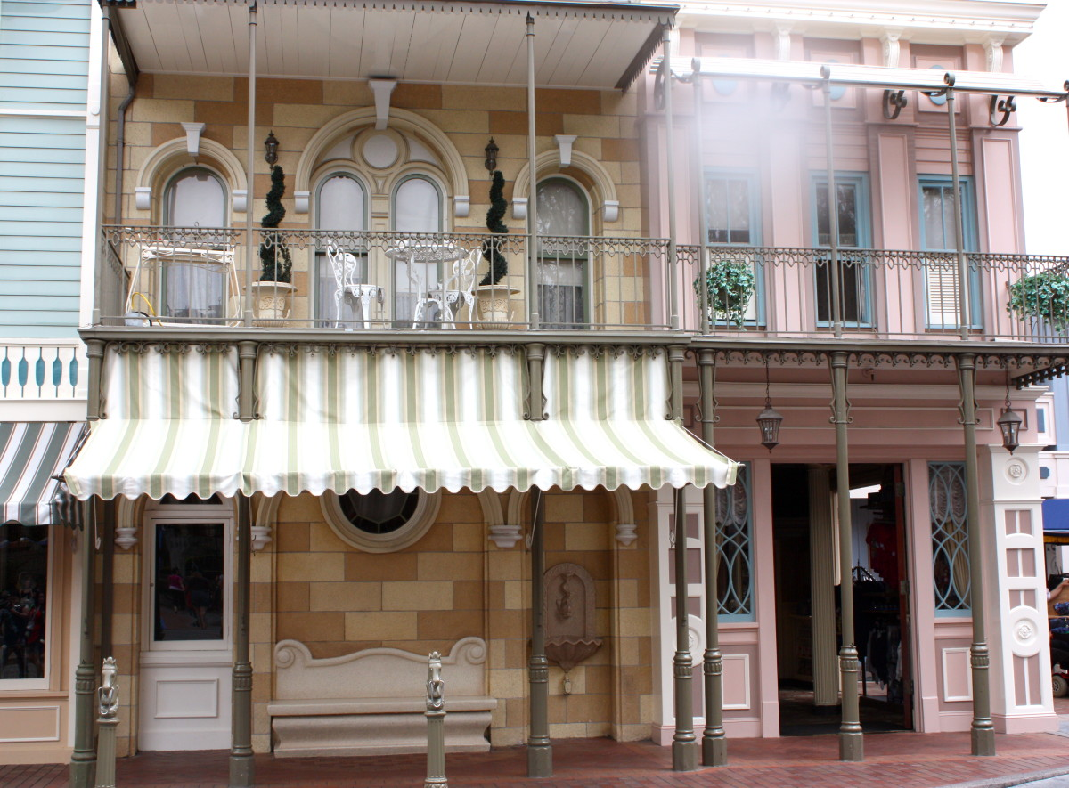 A look at some of the shops on Main Street, USA.