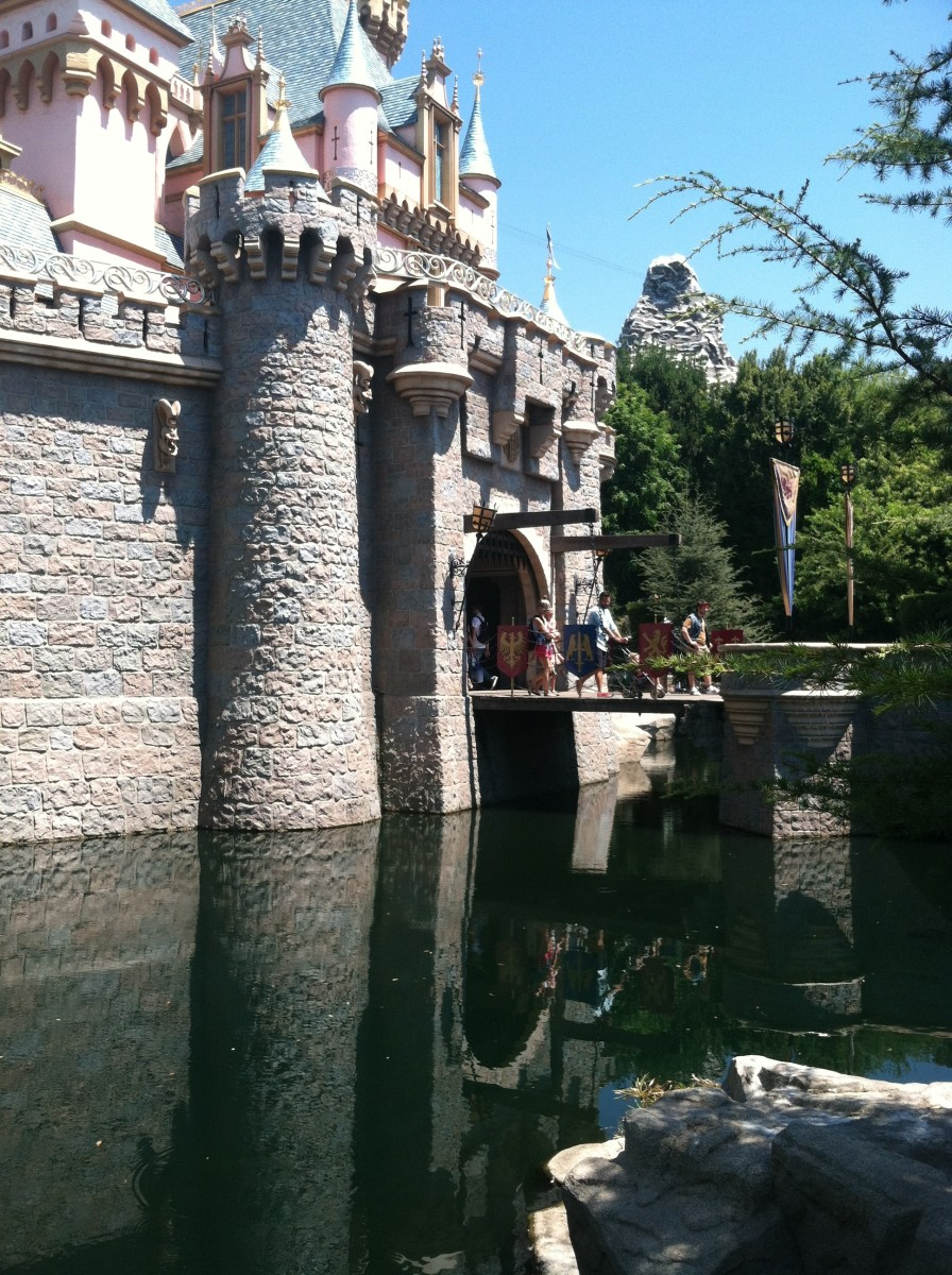 Sleeping Beauty's Castle drawbridge.