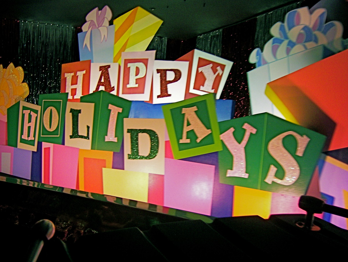 Happy holidays from the happiest cruise on Earth!