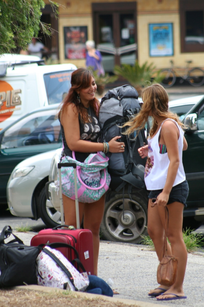 Most visitors to Byron Bay have a suntan by the time they leave.
