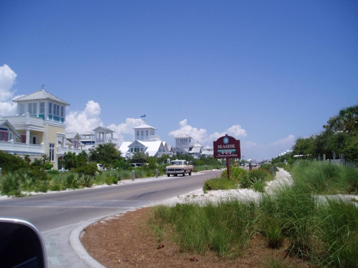 Entering Seaside, FL