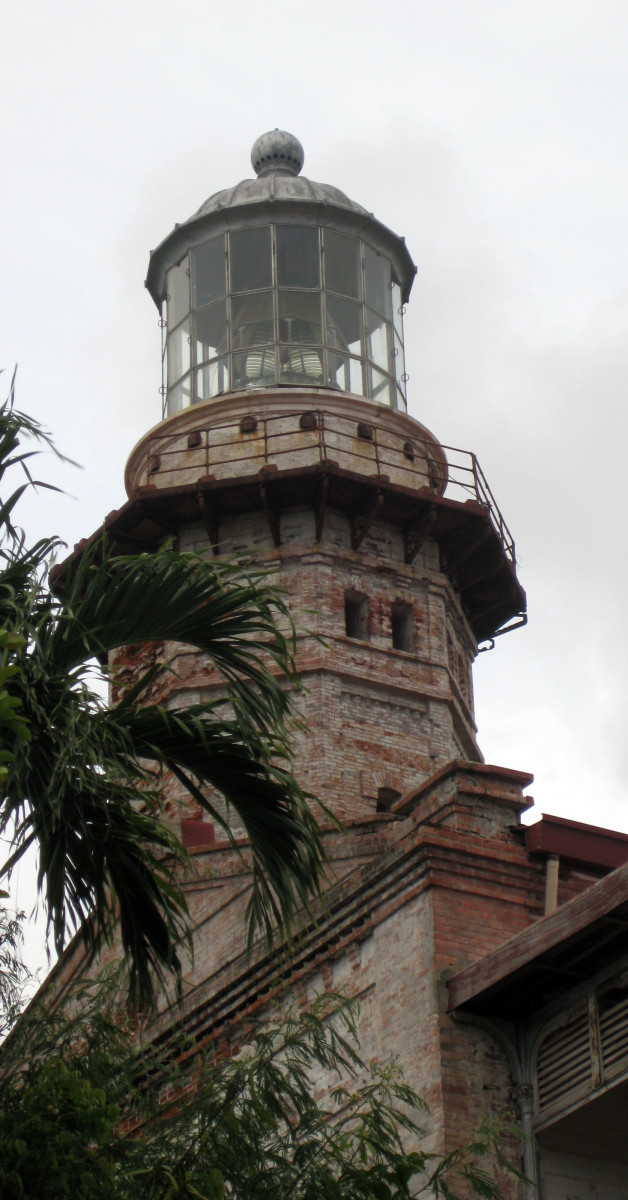 The Cape Bojeador Lighthouse