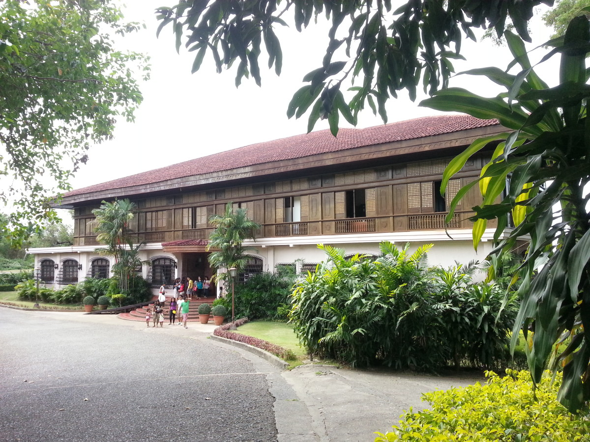 Facade of the Malacanang of the North