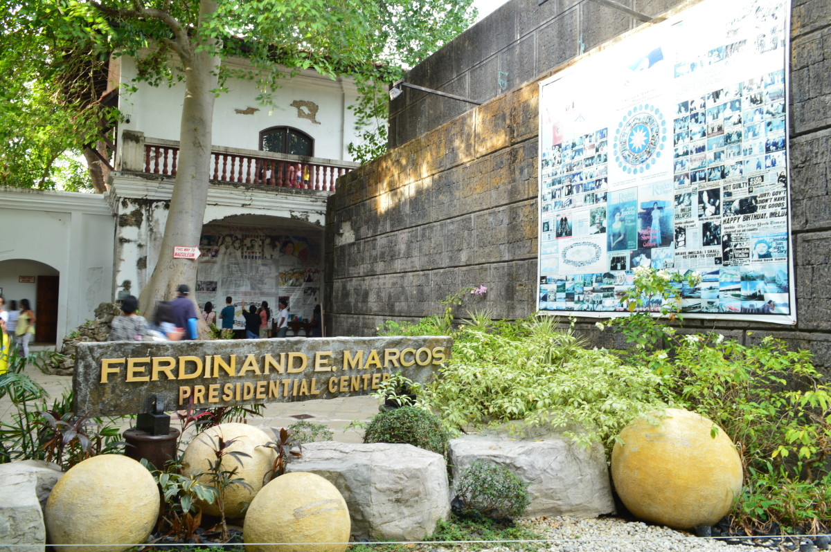 Marcos Museum and Mausoleum at Batac City