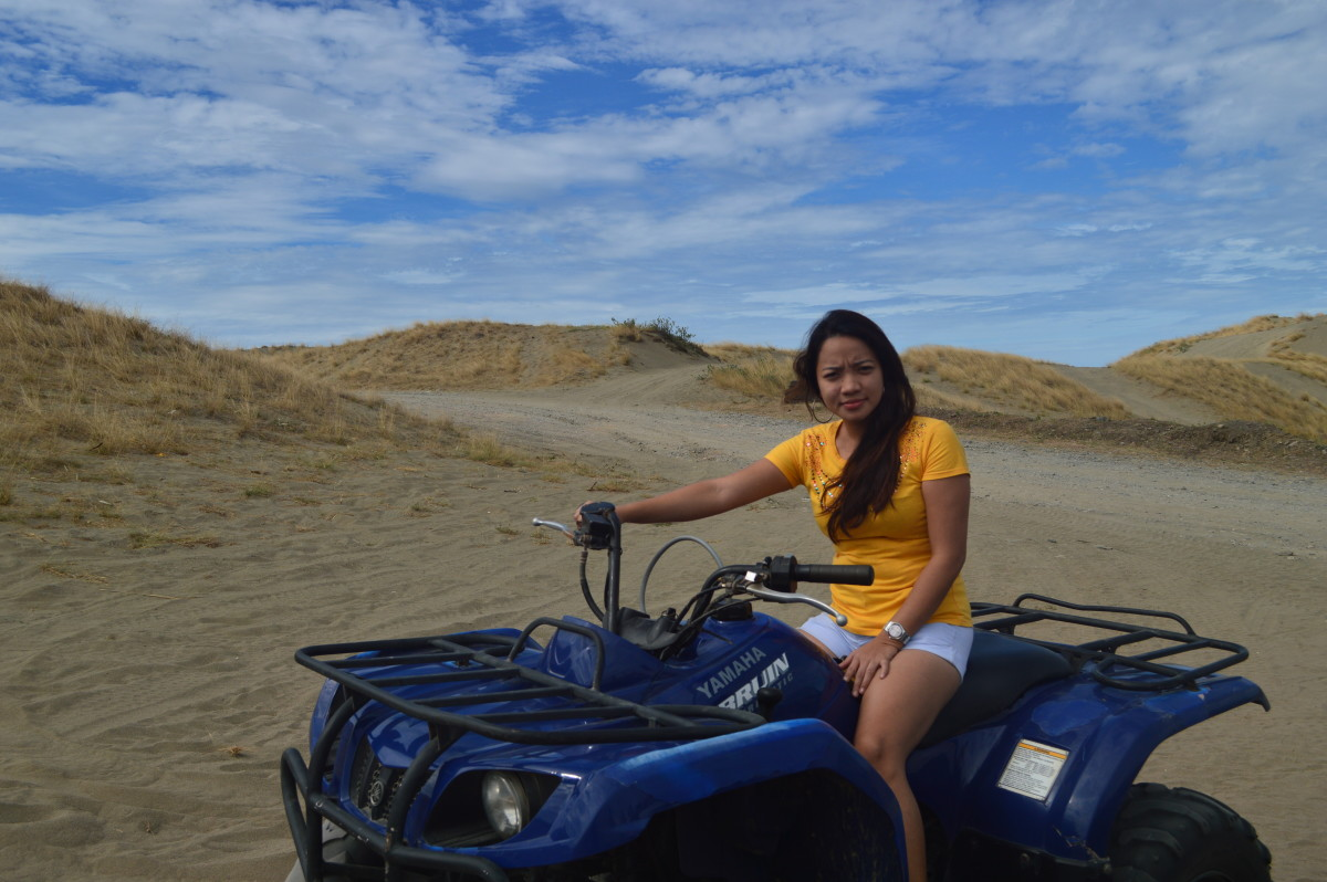 ATV Ride at Lapaz Sand dunes