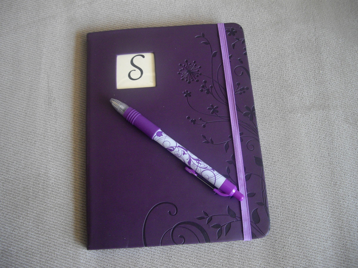 A monogrammed journal with a nice pen to go with it makes a fine gift for anyone who likes to write