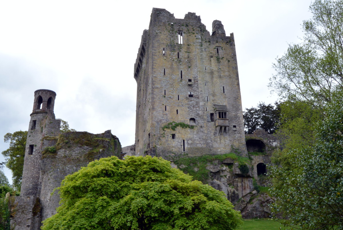 Blarney Castle and Gardens is one of the top tourist attractions in Ireland.