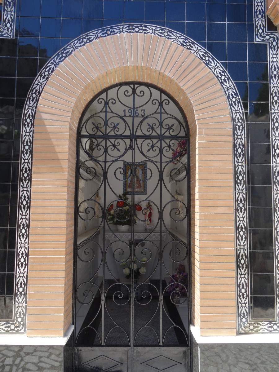 Necropolis in Olvera, Spain