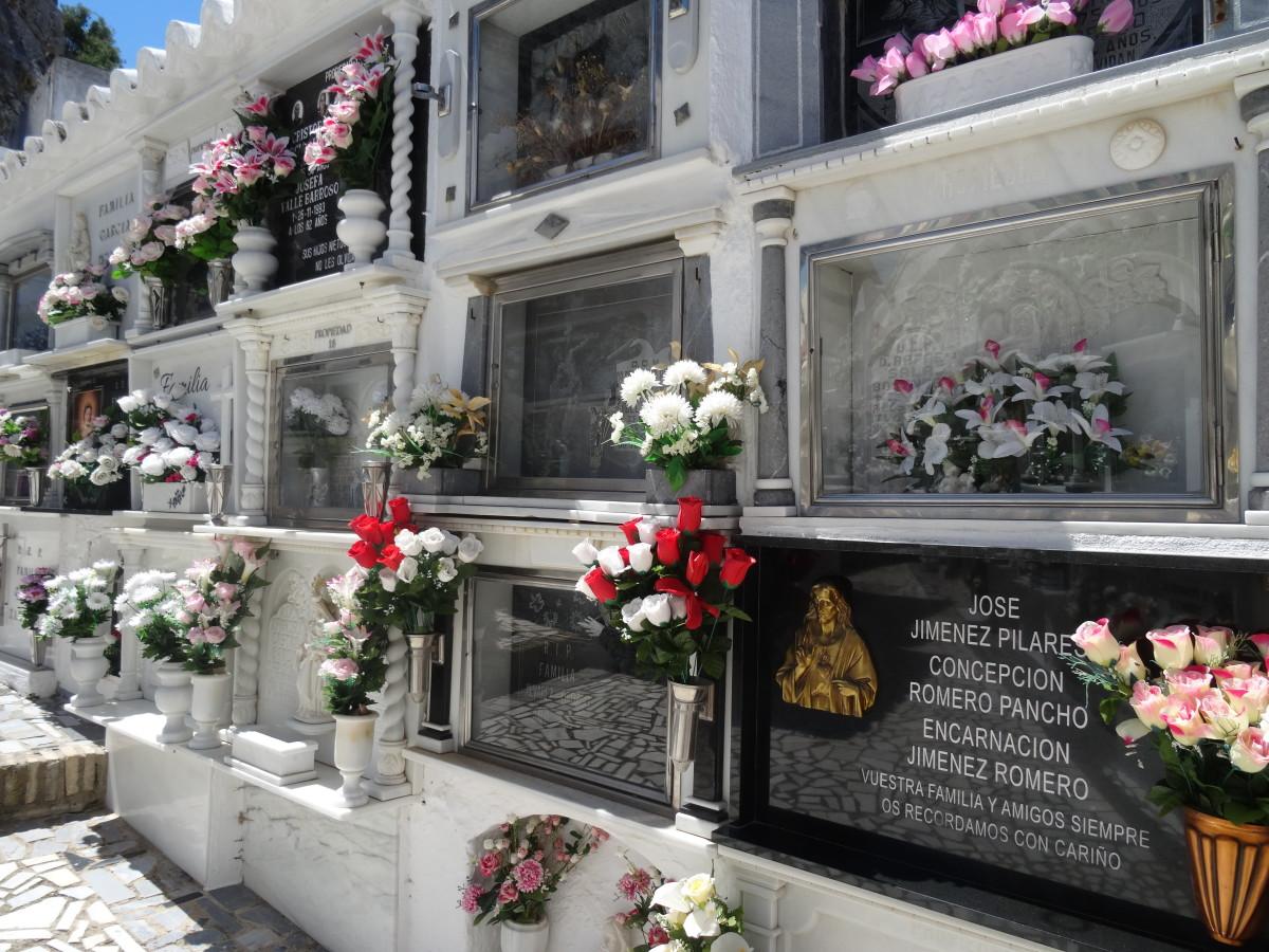 The prettiest cemetery ever!