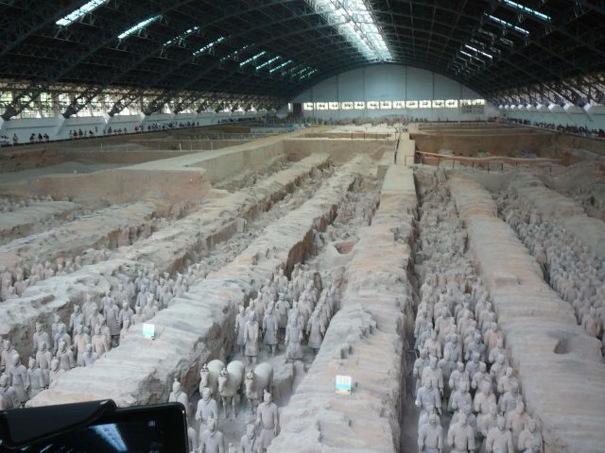 Pit 1 of the Terracotta Army Museum, Xi'an