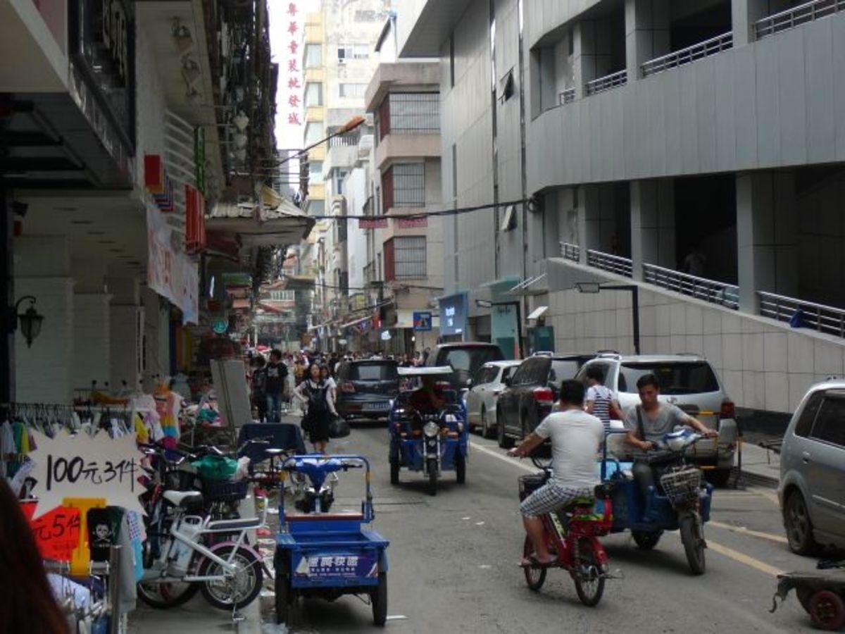 Traffic on the street