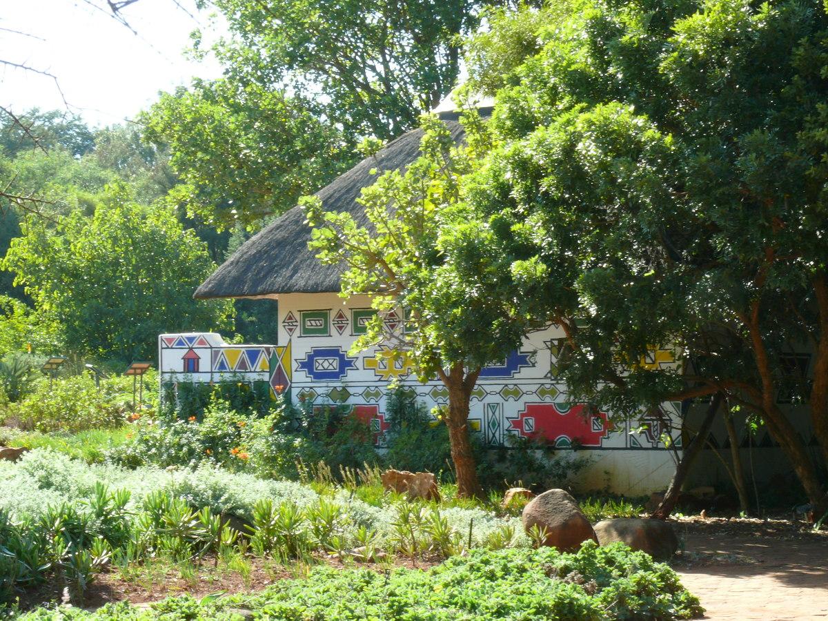 Traditional Village building at Pretoria National Botanical Garden