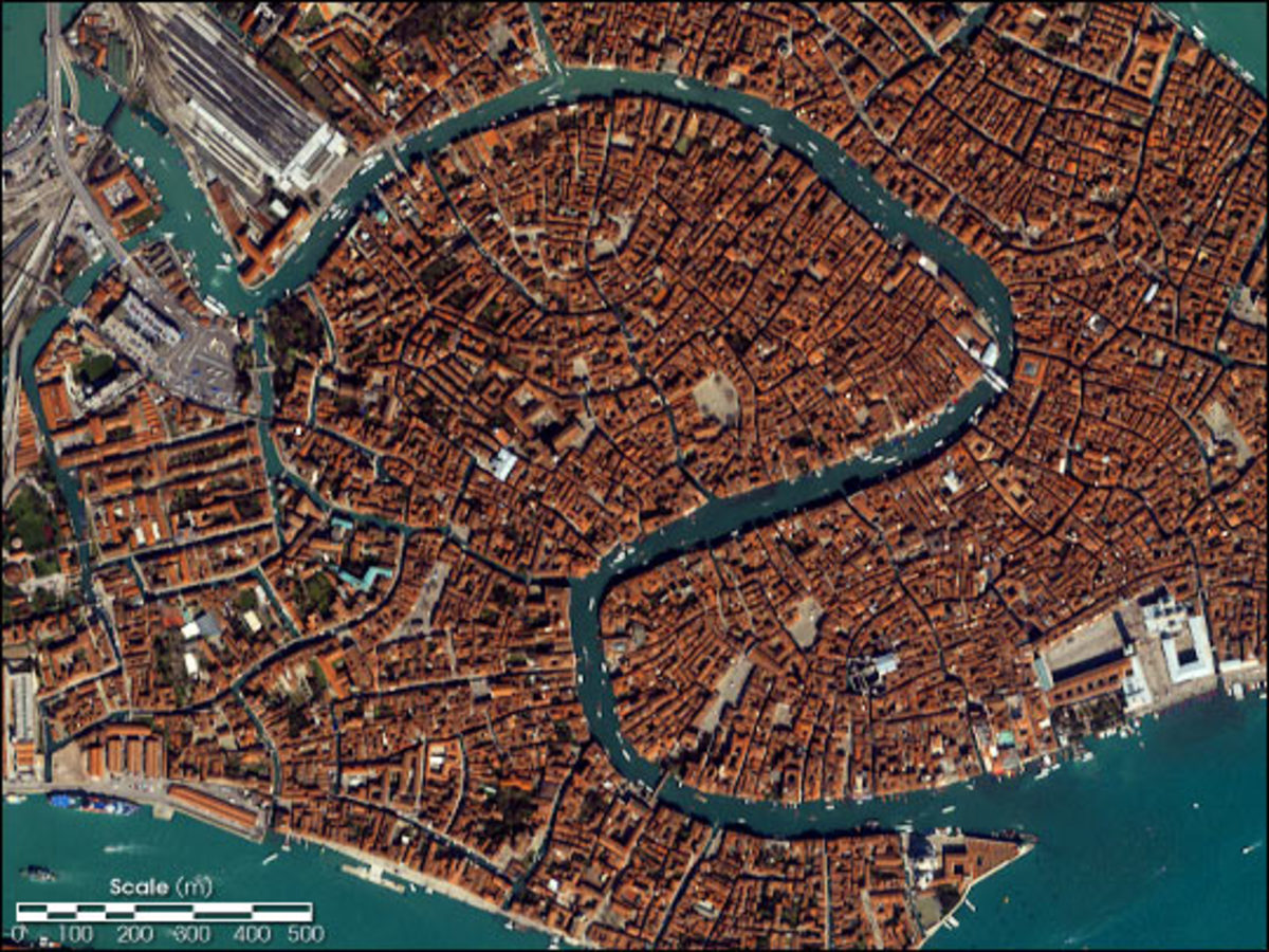 The Grand Canal Viewed From Space 2001