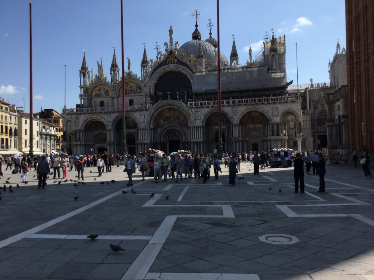 Early morning in St. Mark's Square