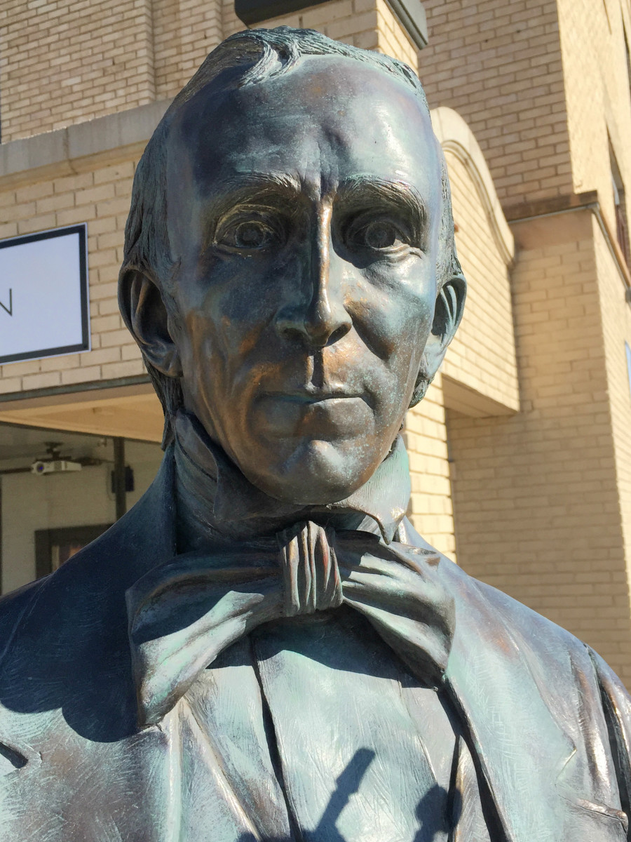 "John Tyler, 10th U.S President, became the first vice president to succeed the president. He named his Virginia plantation ""Sherwood Forest"" because he saw himself as a political outlaw and identified with the legendary character in Robin H"