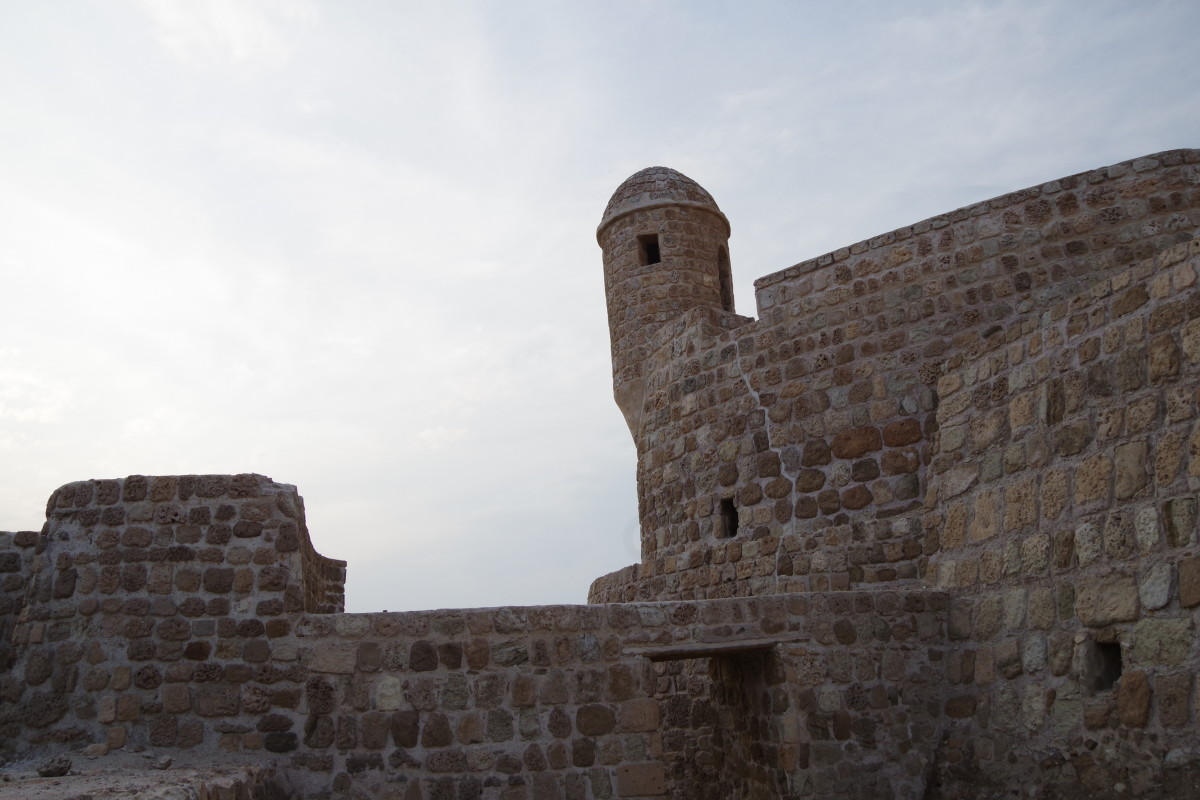Watch-tower of the fort (December 2015)