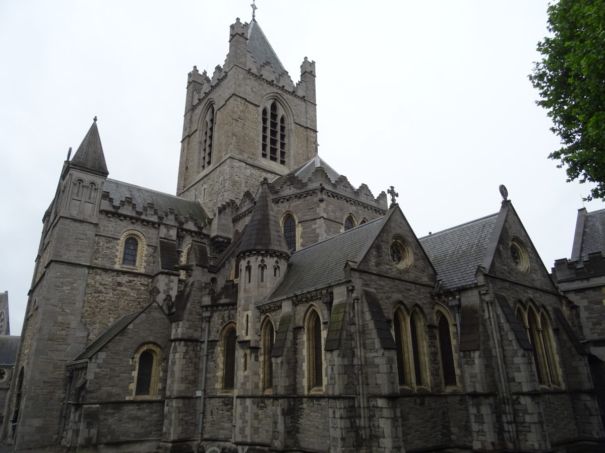 Christ Church Cathedral is very beautiful.