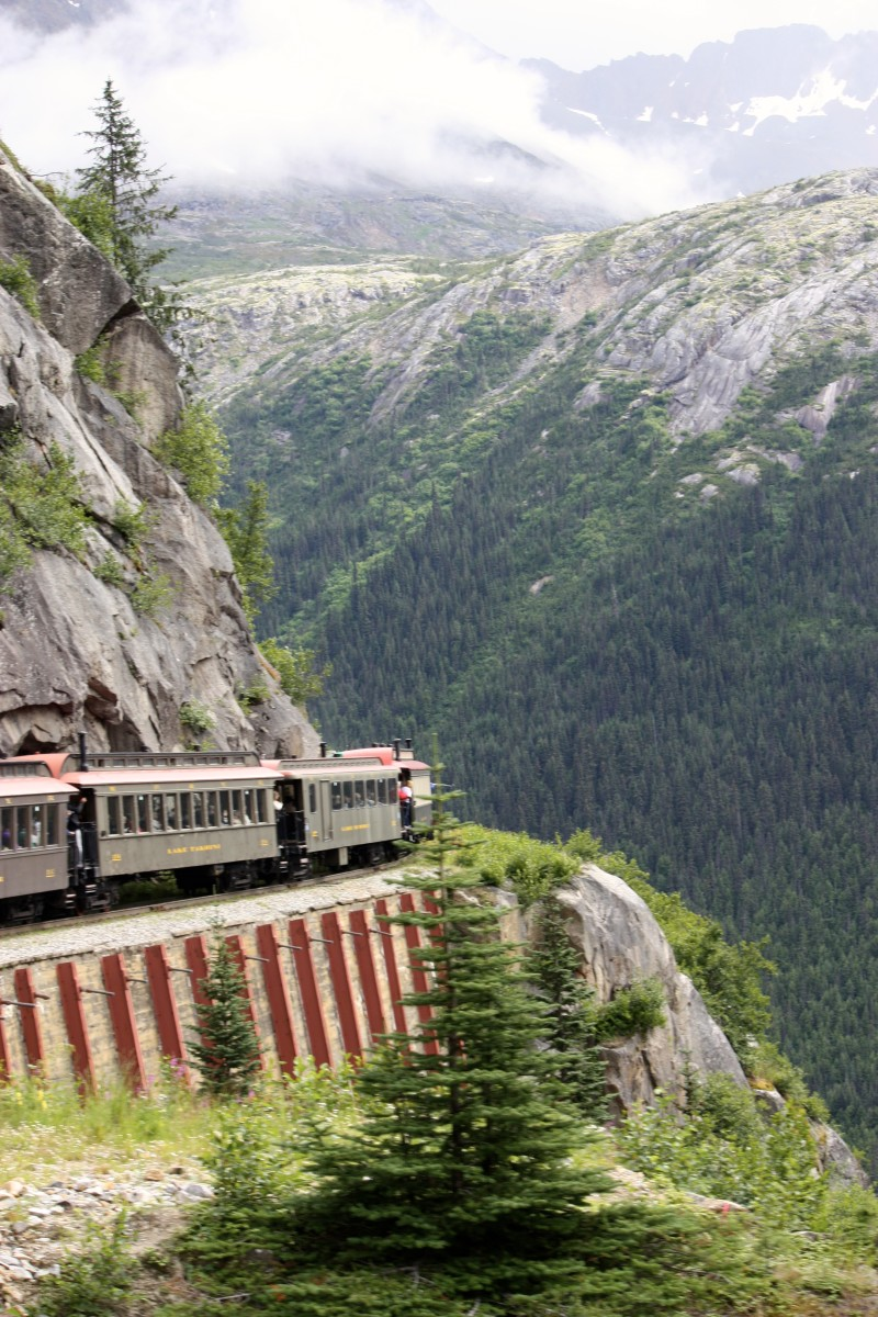 White Pass Yukon Railway Trip
