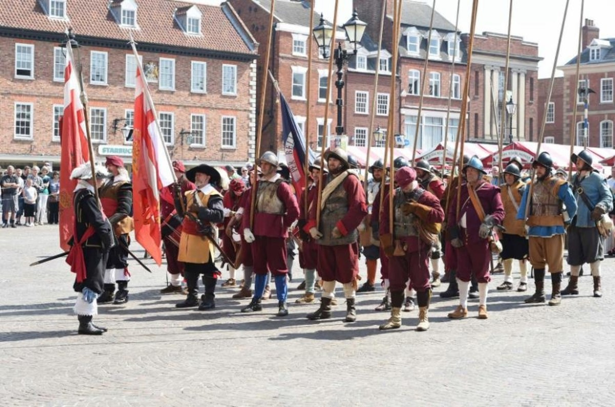 The Sealed Knot Society visits Newark to re-enact the Town's pivotal place in the English Civil War.