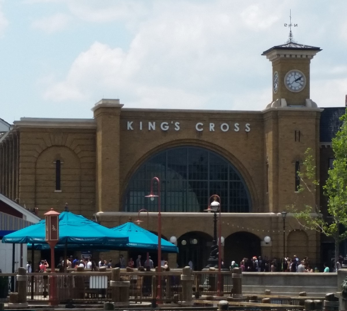 Kings Cross at the Wizarding World of Harry Potter