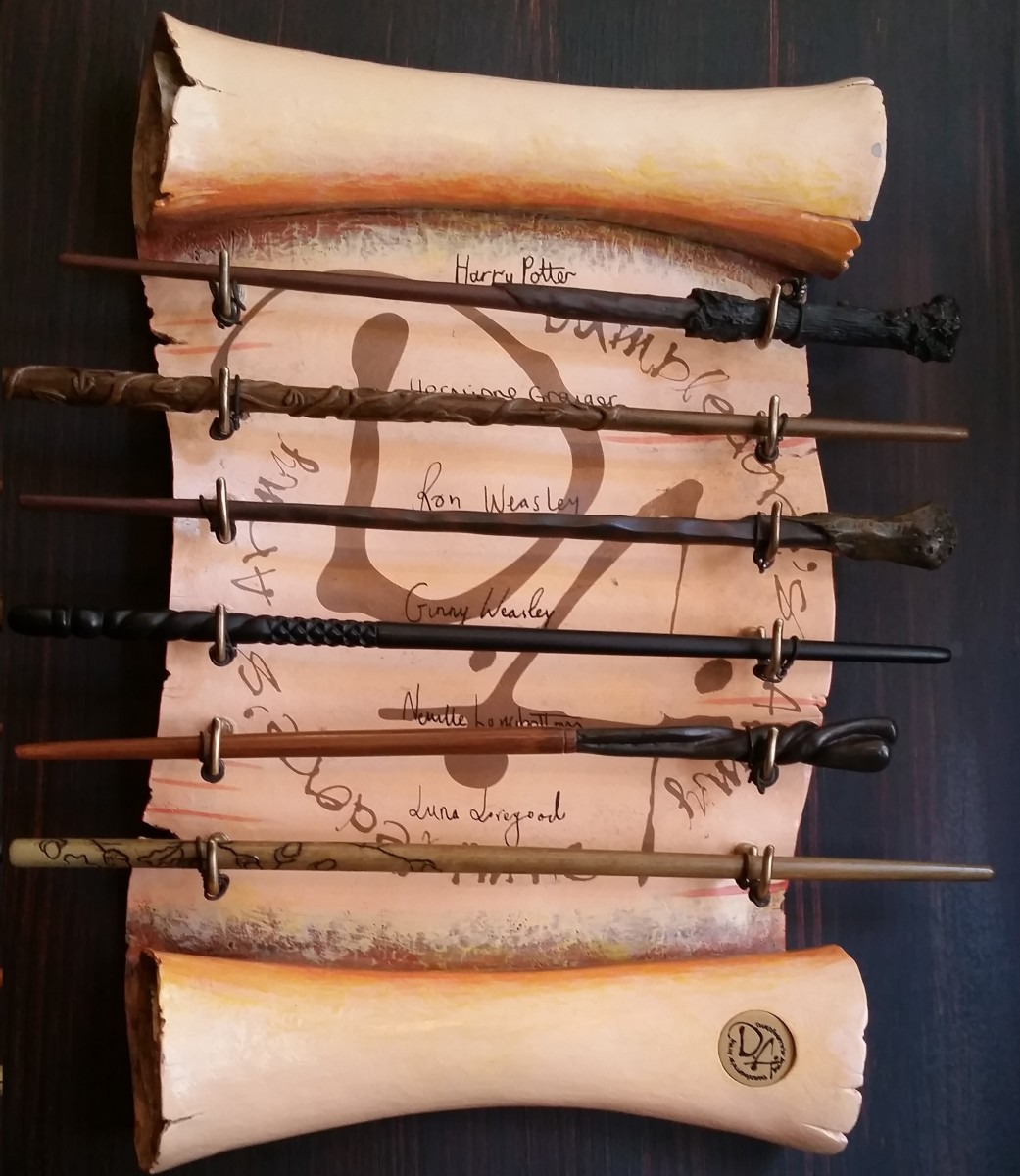 You can get a wand that matches your favorite wizard's!