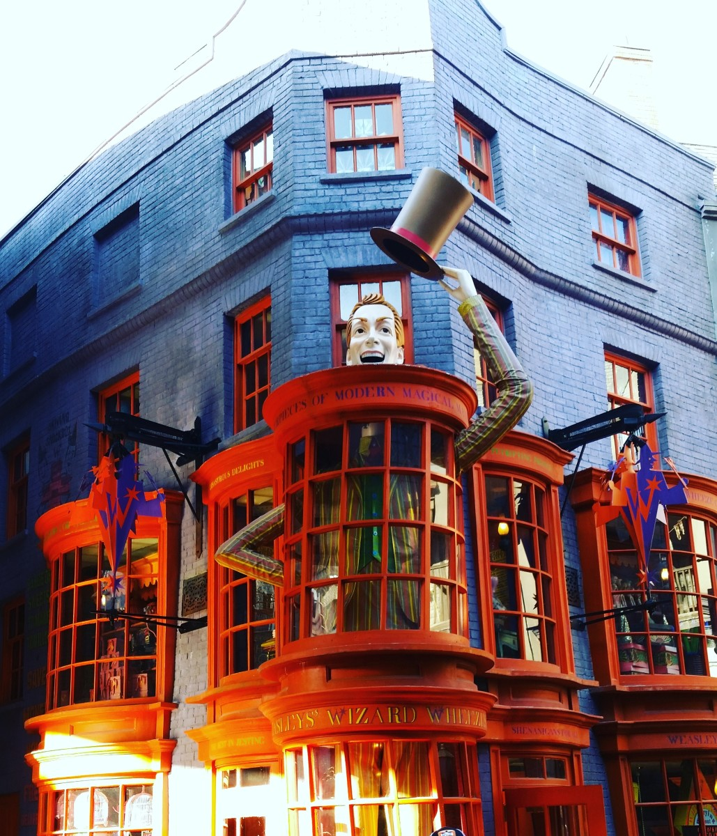 Weasley's Wizard Wheezes at Diagon Alley in the Wizarding World of Harry Potter
