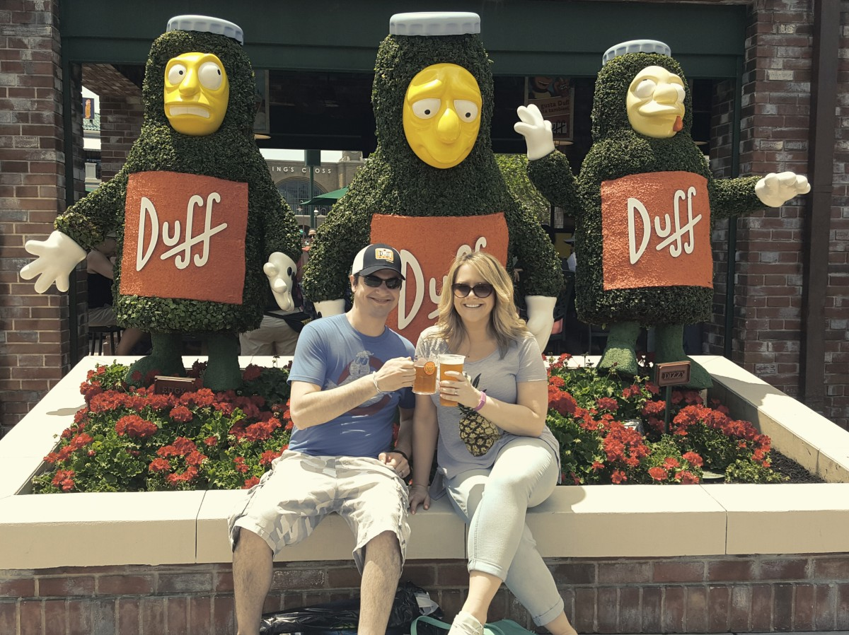 Go grab a Duff Beer at Springfield USA at Universal Studios Florida