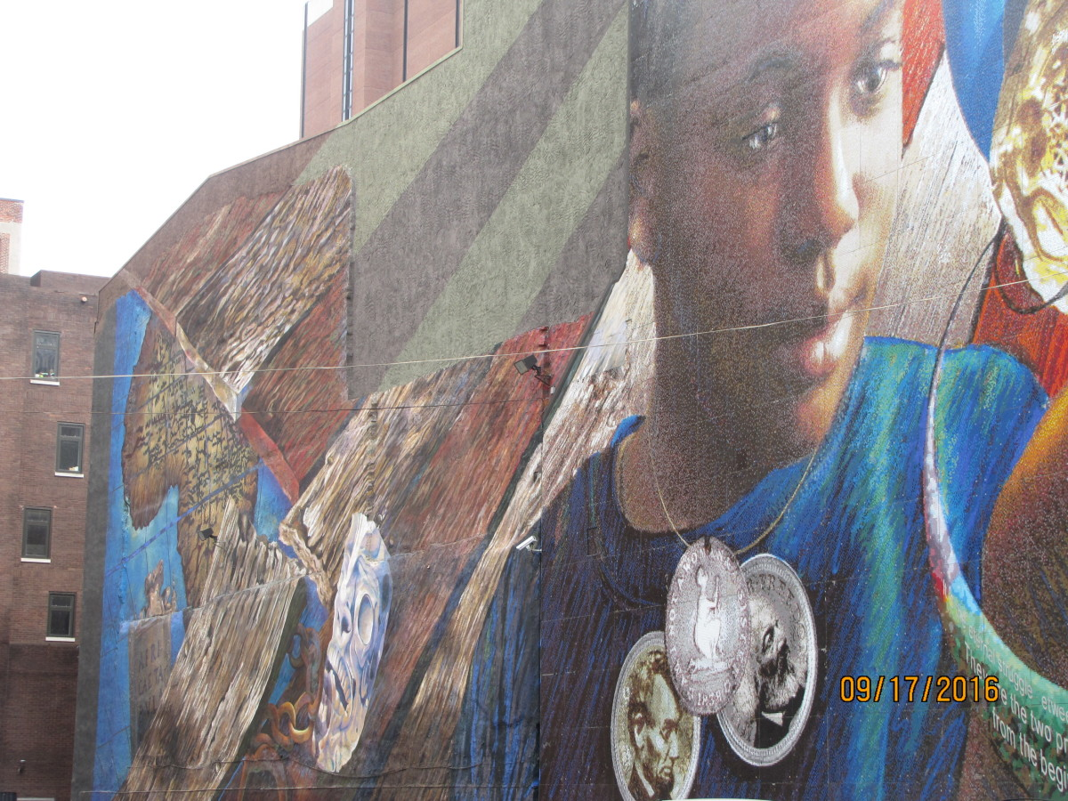 "One of the many murals in Philadelphia. Read more in ""Philadelphia Murals and the Stories they Tell."""