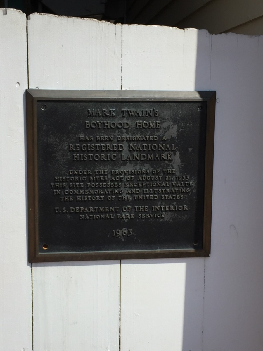 Registered National Historic Landmark plaque, 1963
