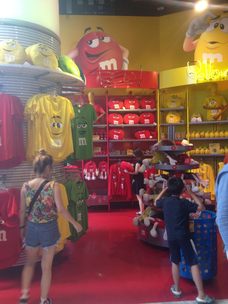 Time Square's M&M Store has more than chocolate
