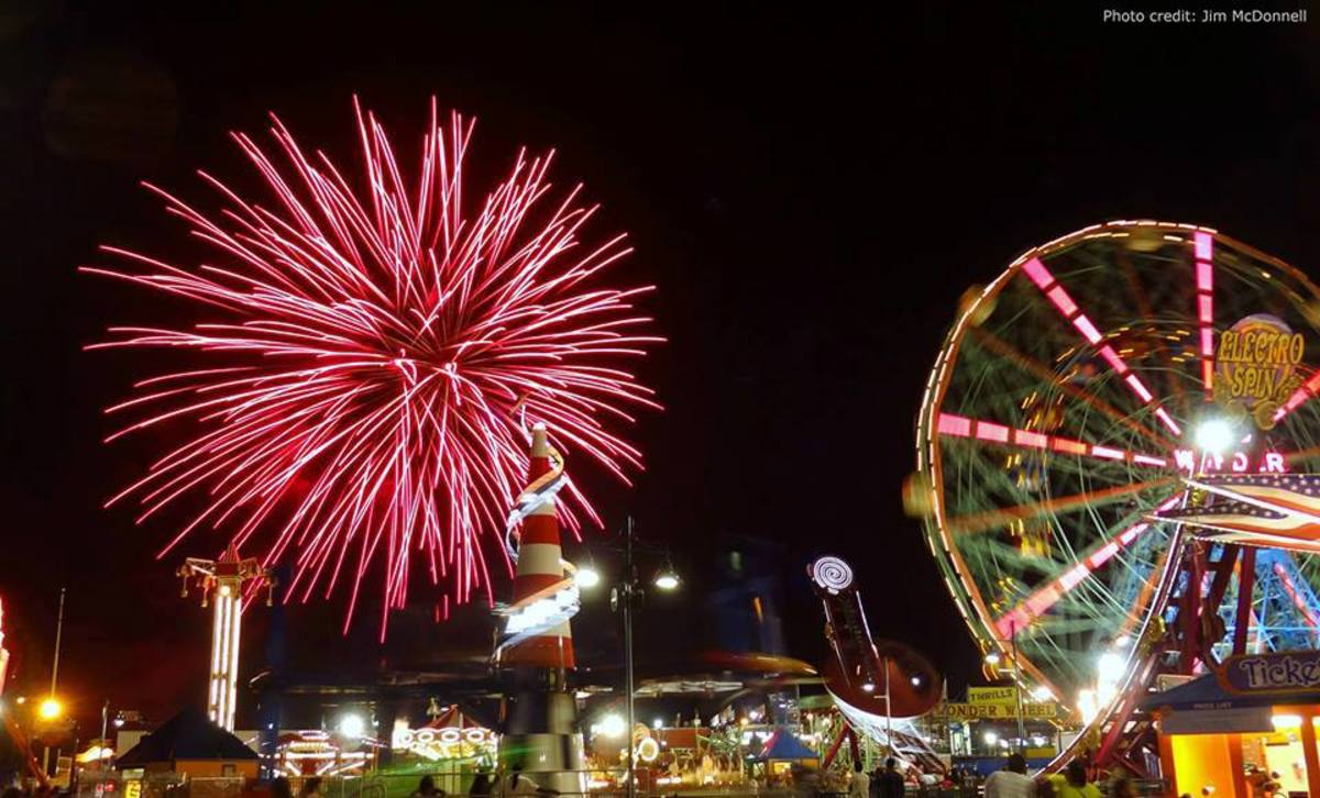 Fireworks in Coney Island is one of the free summer activities in New York City that locals and visitors flock to long after July 4th.