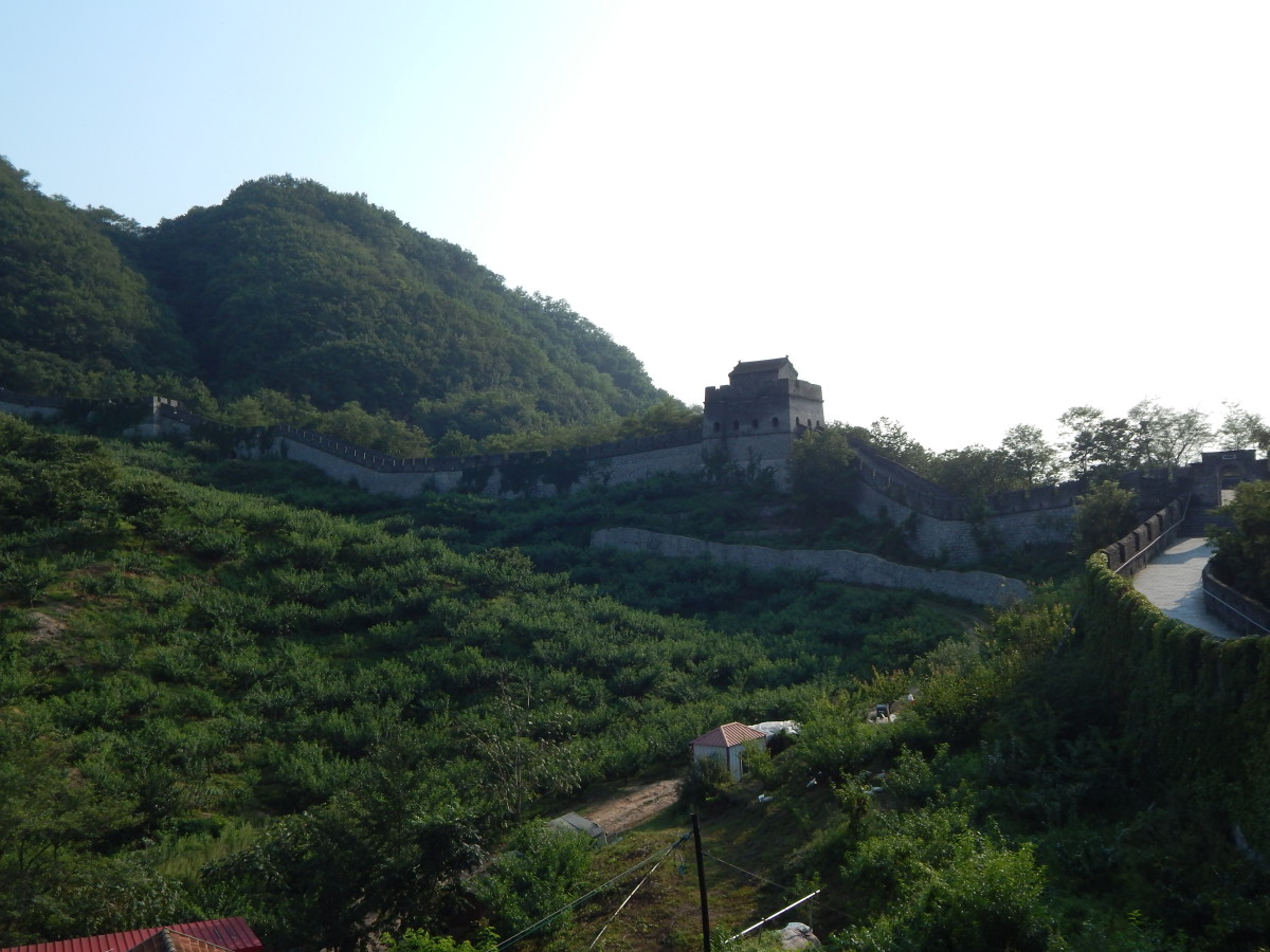 The most eastern section of the Great Wall, Tiger Mountain.
