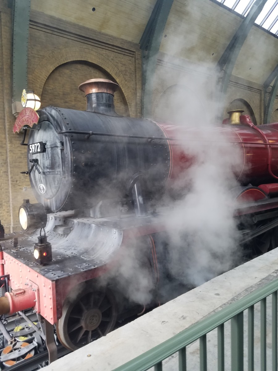All aboard the Hogwarts Express!