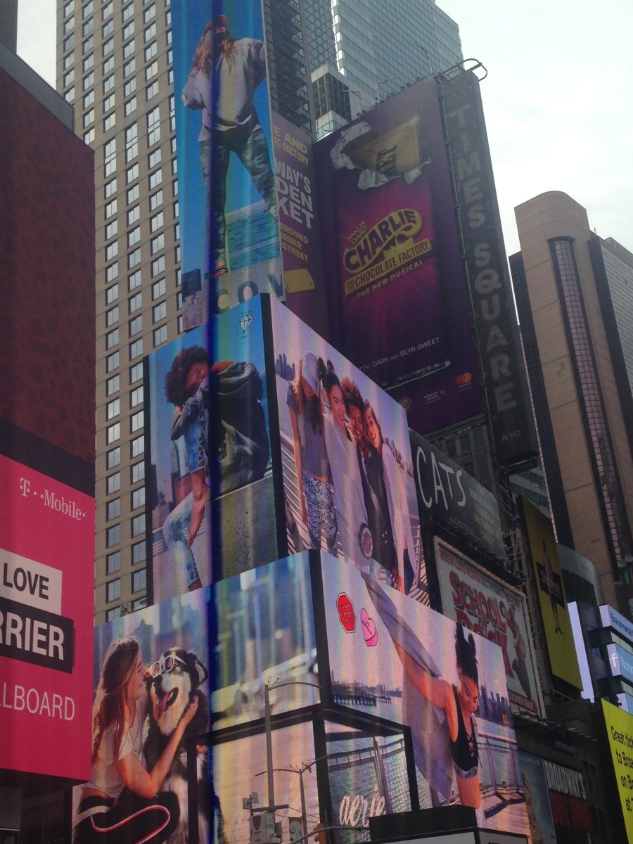 Billboards, Skyscrapers and 24/7 Crowds Add to the Magic That is Times Square