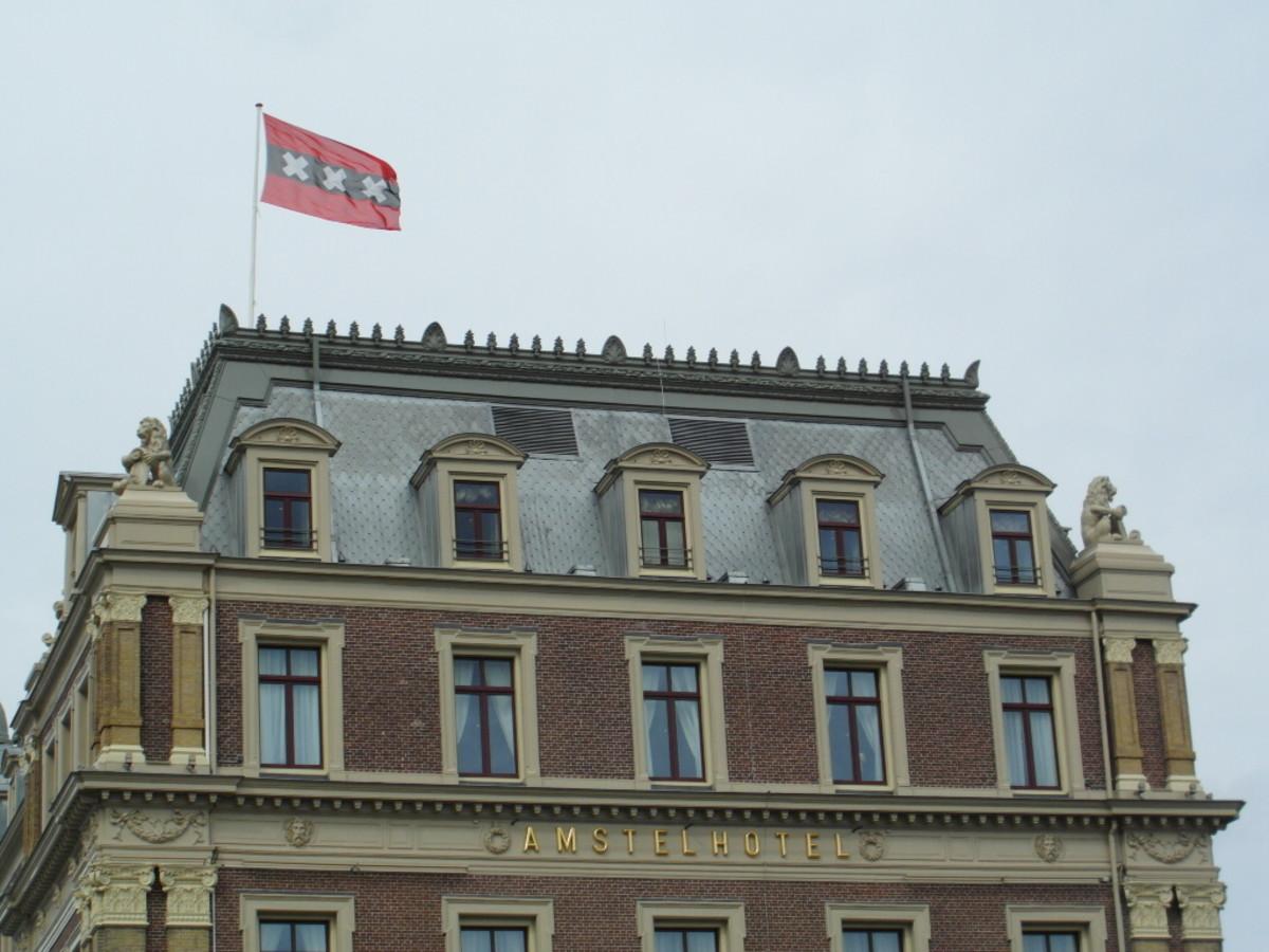 Amsterdam flag.