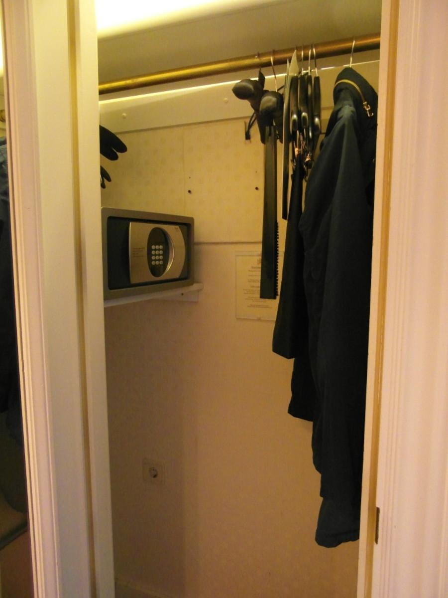 The wardrobe.