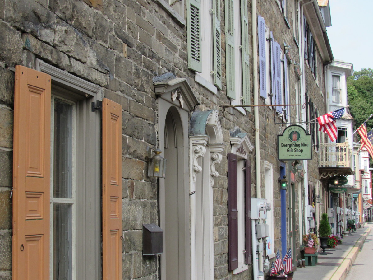 Historic Stone Row, Jim Thorpe, PA