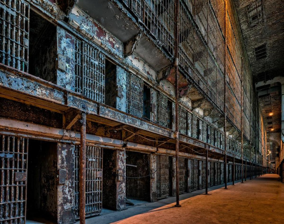 Cell Blocks as They Look Today