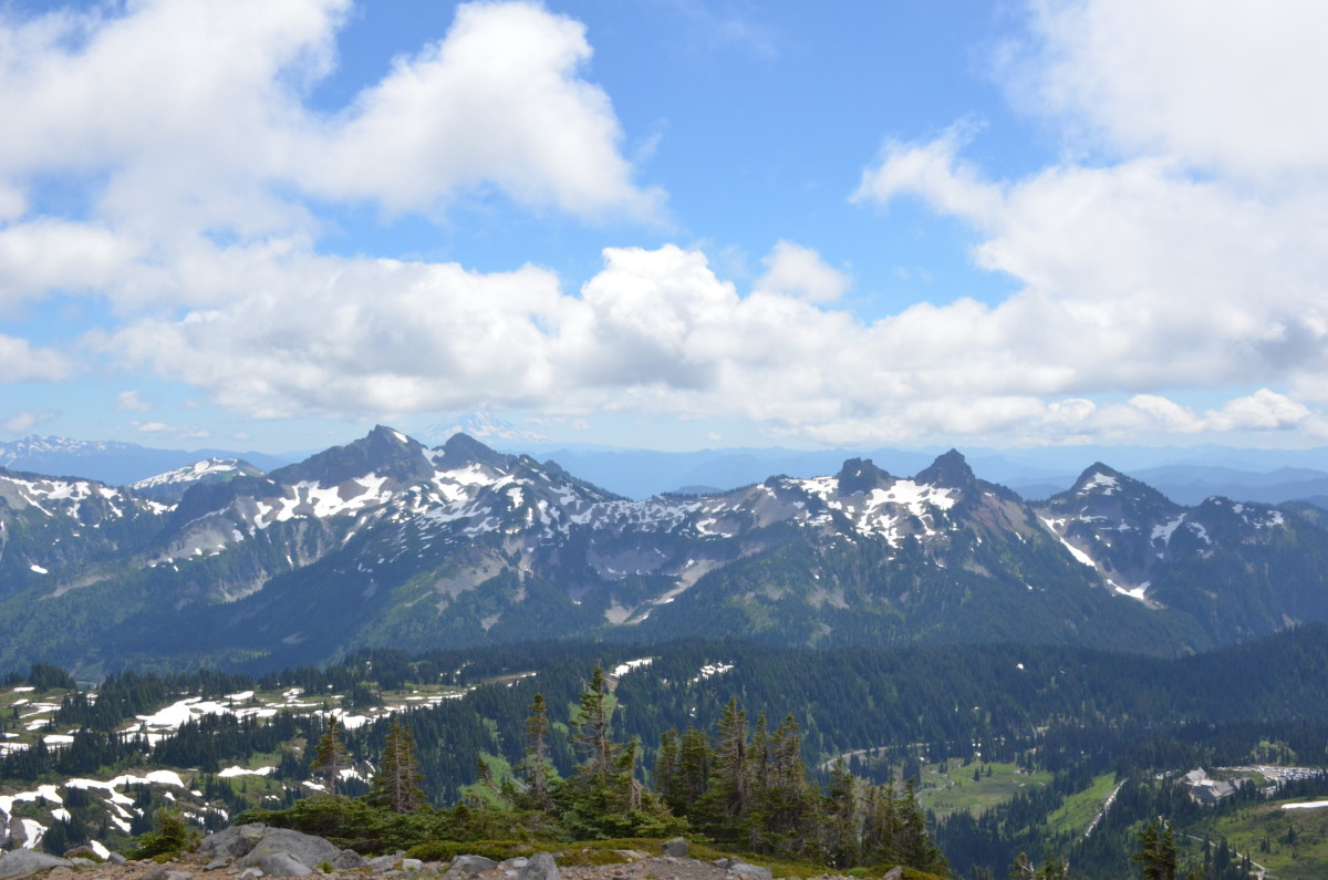 Panorama Point on the Skyline Trail @ Mount Rainier National Park