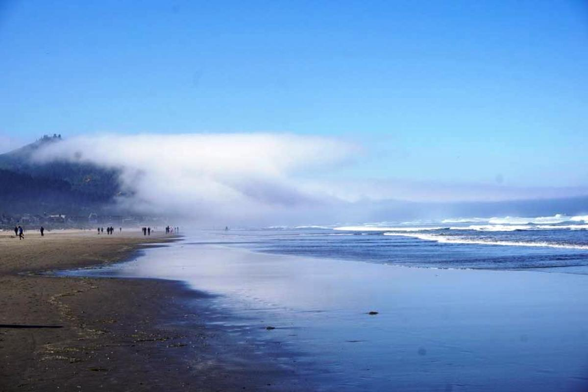 Foggy Morning at Cannon Beach