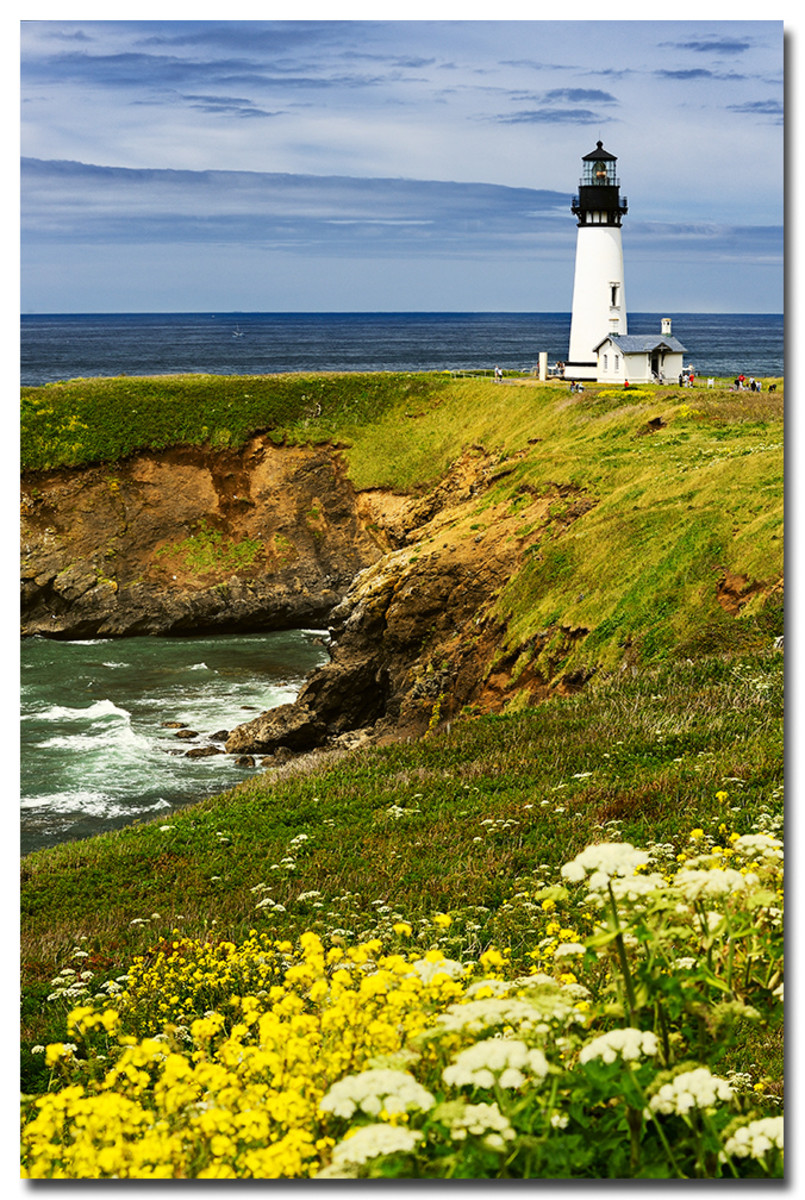 Yaquina Head Lighthouse - Newport, Oregon