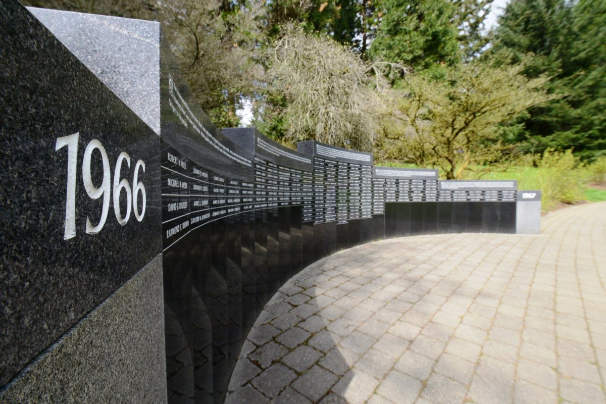 Vietnam Veterans of Oregon Memorial at Washington Park in Portland