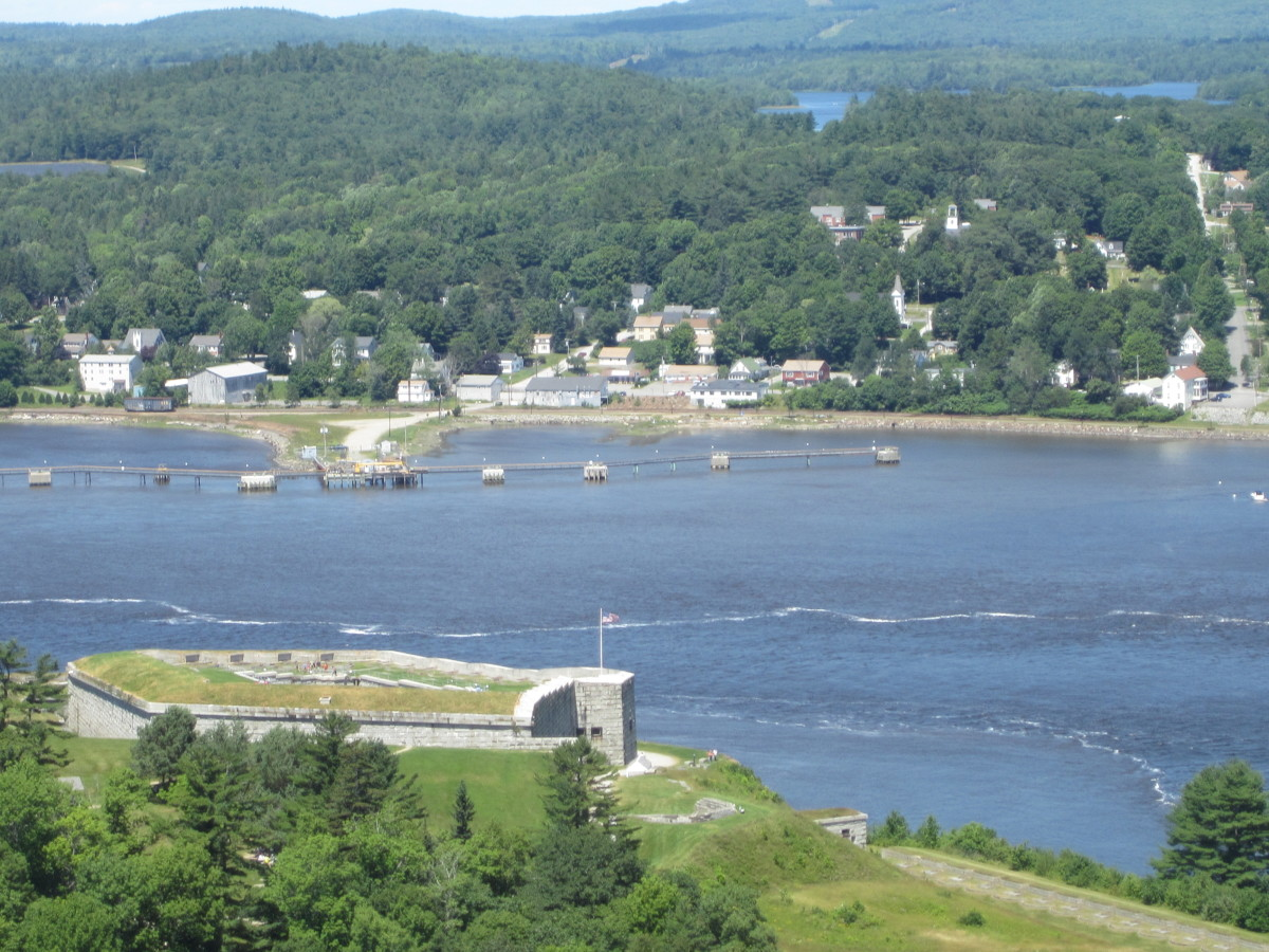 Fort Knox and Bucksport, ME