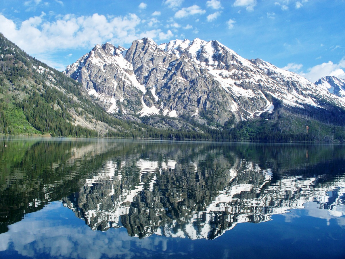 Jenny Lake in Grant Teton National Park,  Wyoming