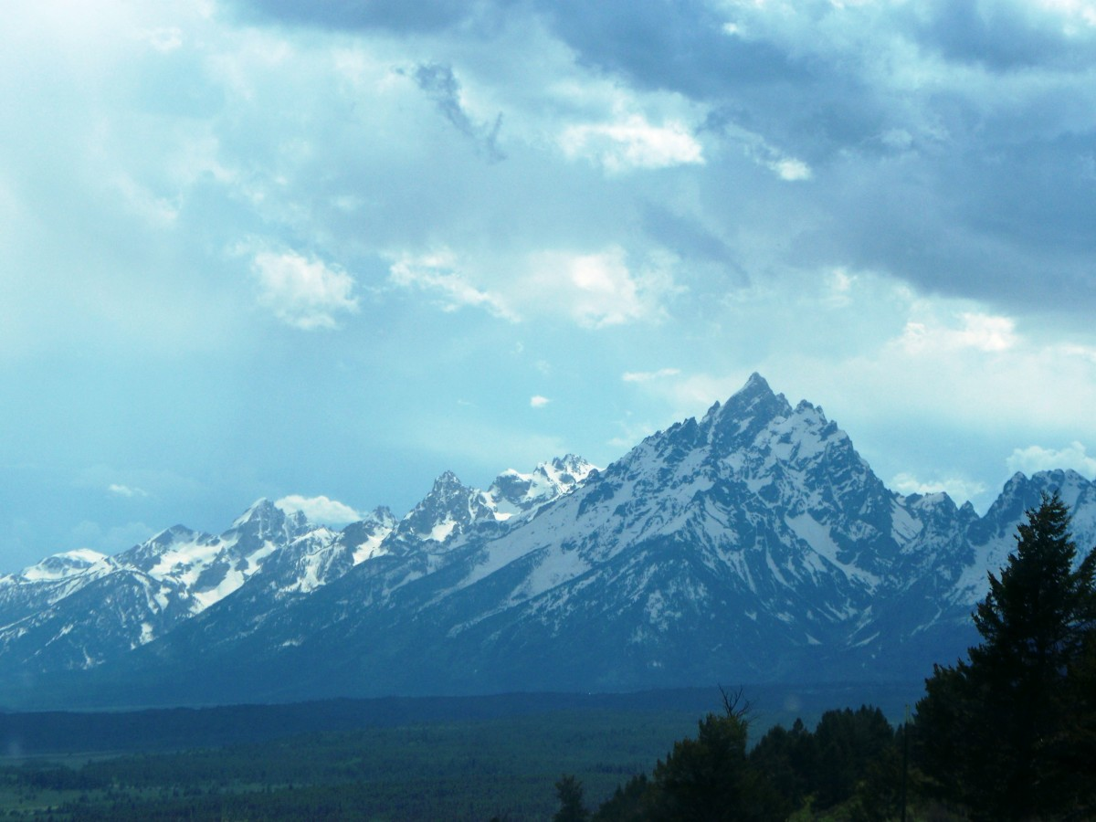 Signal Mountain Road Summit in Grand Teton National Park, Wyoming
